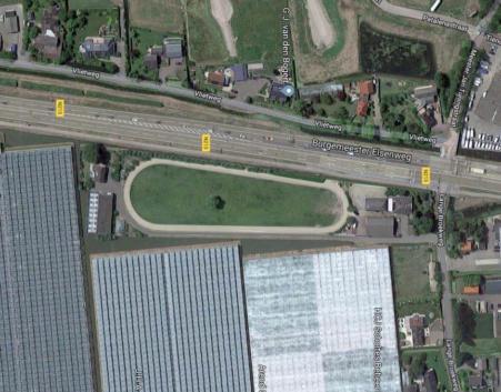 Situatie Lange Broekweg Naaldwijk
